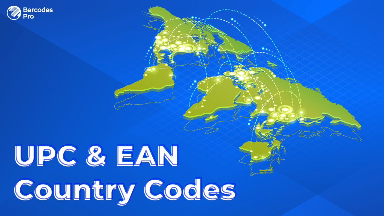 UPC and EAN Barcode Country Codes